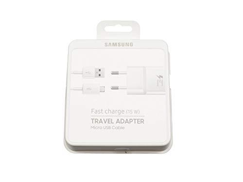 Samsung Micro USB Netzteil 15 Watt EU weiß Schnellladenetzteil Original inkl. Ladekabel Galaxy Tab 3 10.1 Serie - Samsung Für Galaxy Stromkabel Tab