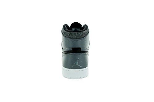 Nike Herren Air Jordan 1 Retro High Turnschuhe, Talla Grau / Weiß / Schwarz / Weiß (kühles Grau / weiß-schwarz-weiß)