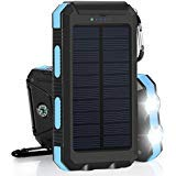 Best Solar Charger Androids - Errbbic 20000mAh Solar Power Bank Solar Charger Waterproof Review