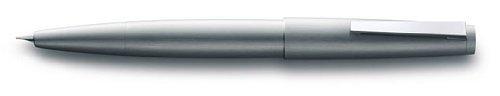 Lamy 2000-Pluma estilográfica, punta media, de acero inoxidable cepillado (l02mm) by Lamy