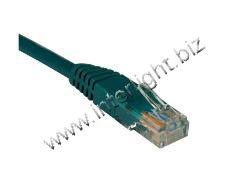 Tripp Lite Cat5e 350MHz Molded Patch Cable (RJ45 M/M) - Green, 1-ft.