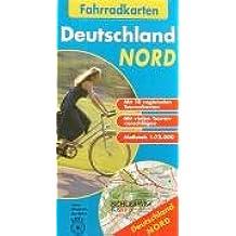 Fahrradkarten Deutschland Nord: 1:75.000