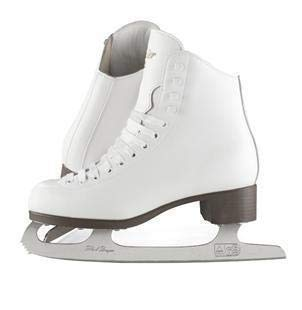 (Adult 9, White) - Jackson Ultima GSU120 GSU121 GSU124 Glacier White Figure Ice Skates for Women and Kids