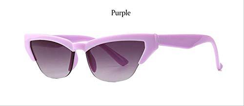 ZHAS Sonnenbrillen Vintage Sonnenbrillen Damen Halbrandlose Sonnenbrillen Damenmode Brillen Modische Damenbrillen Werden aus hochwertigen Materialien für eine Lange Lebensdauer hergestellt