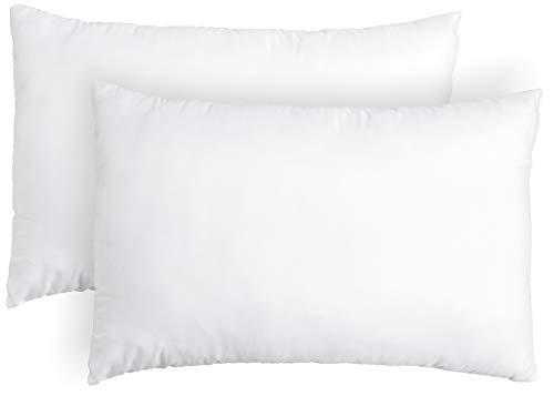 Amazon Brand - Solimo 2-Piece Bed Pillow Set - 40 x 60 cm, White