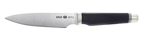 De Buyer 4285.14 'FK2' Couteau de Service - Manche avec Contrepoids - L. 14 cm