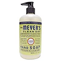 mrs. meyer s liquid hand soap - lemon verbena - case of 6-12.5 oz