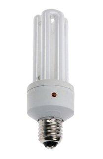 Energiesparlampe E27 22W mit Tag/Nacht Sensor, Sockel 120° drehbar von wechselnde auf Lampenhans.de