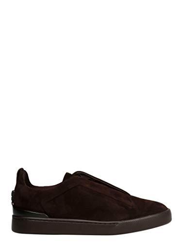Z ZEGNA Luxury Fashion Herren LHCACA2511X Bordeauxrot Sneakers | Herbst Winter 19