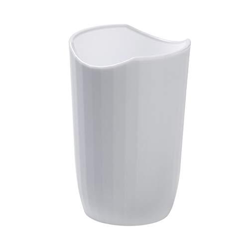 jfhrfged Tragbarer Kunststoff-Zahnbürstenhalter mit einfacher nordischer Mundspülung. Waschbecher rutschfest (B)