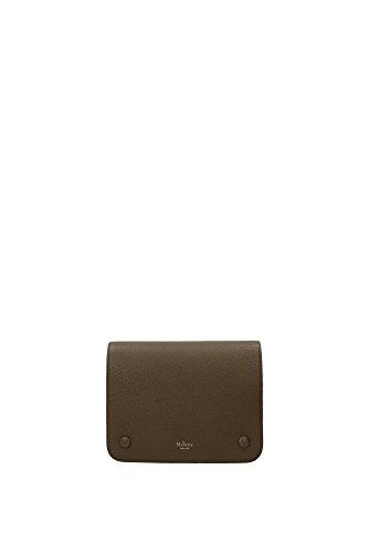 Borse a Mano Mulberry Donna Pelle Argilla e Oro HH3762205D614 Marrone 5x17x22 cm