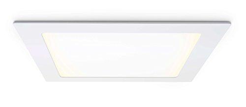 LED Panel, quadratisch mit 18W Leistung, Warmweiß - Unterputz - Einbaupanel besonders sparsam