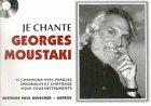 Partition : Je chante Moustaki