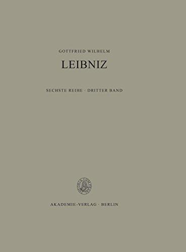 Saemtliche Schriften Und Briefe: Philosophische Schriften 1672-1676 par Gottfried Wilhelm Leibniz