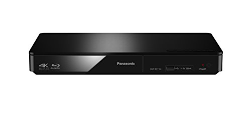 Panasonic DMP-BDT184EG Blu-ray Player (DLNA, Internet-Apps, Video on Demand, 4K Upscaling, 3D, USB, LAN-Anschluss, Dual Core Prozessor, HDMI-Steuerung, MKV-Playback) schwarz