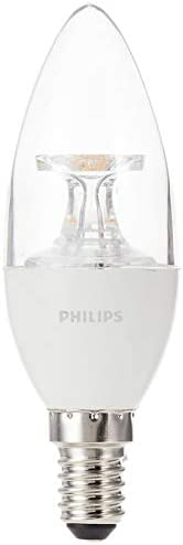 Philips LED Candle, 5.5 40W E14 2700K, B35 CL, 8718696454916, Warm White