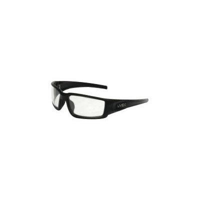 Uvex von Honeywell hypershock Schutz Schutzbrille mit matt schwarz Polycarbonat Rahmen und klar Polycarbonat Uvextreme Plus Anti-Fog Objektiv -