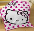 Hello Kitty 'Candy Spot' Printed Fleece Blanket 120cm x 150cm