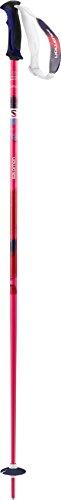 Salomon, 1 Paar Damen Skistöcke, 105 cm Länge, Zweikomponenten-Damengriff, SHIVA, Pink, L37781100