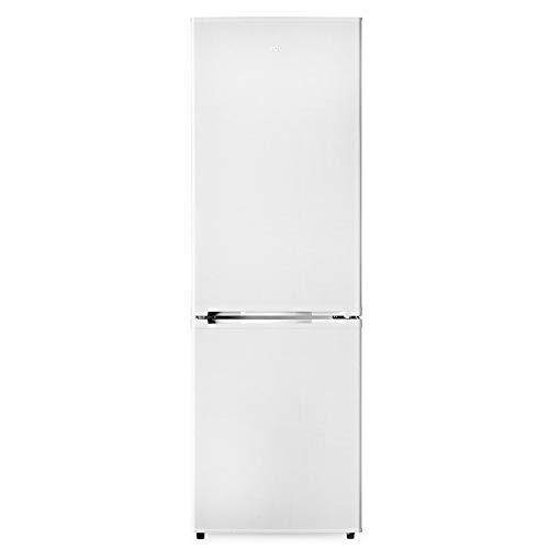 TCL TRF-315A+ Kühlschrank/weiß/Kühl-Gefrierkombination / 10-fach höhenverstellbar/Thermostat stufenlos / 300l / 180cm Höhe / 56,5cm Breite