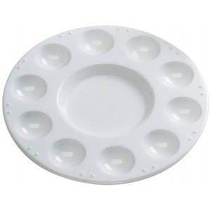 Mischpalette Kunststoff, 17,5cm rund, 10 Näpfe [Spielzeug]