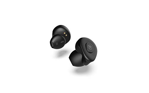Ryght AIRGO True Wireless écouteurs sans fil Bluetooth avec étui de recharge - noir