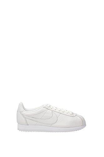 Nike W Classic Cortez Leather Prem, Scarpe da Corsa Bambina Blanco (Blanco (white/white))