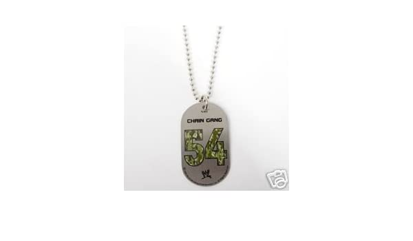 Wwe john cena chain gang dog tags new amazon pet supplies mozeypictures Gallery