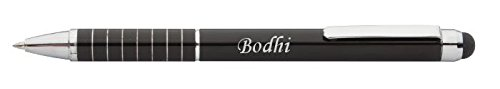 personalised-touch-screen-pen-stylus-with-text-bodhi-first-name-surname-nickname