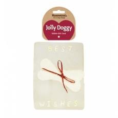 Rosewood Jolly Doggy Rawhide Gift Card, 17 x 13 cm