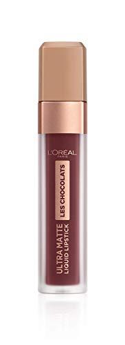 L'Oréal Paris, Rossetto Matte Liquido Tinta Labbra a Lunga Tenuta, Collezione Les Chocolats, Confezione Singola, 868 Cacao Crush
