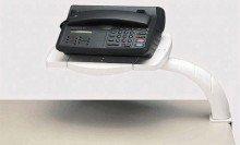 Preisvergleich Produktbild MAUL Multifunktionsarm, Telefonschwenkarm, Schwarz 8304290, 1 Stück