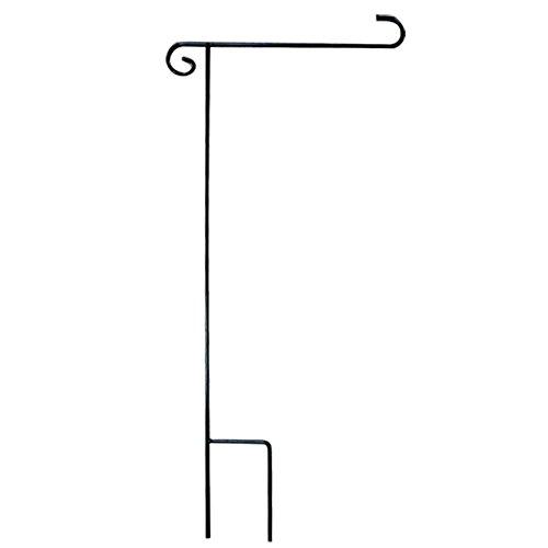 Gosear Garten Flagge Stand Halter Flagge Pole Haus Zubehör 39.37inches x 14.96inches (Höhe x Breite)