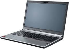 Fujitsu LIFEBOOK E754 VFY:E7540M77APDE 39,6 cm (15,6 Zoll) Laptop (Intel Core i7 4712MQ, 8GB RAM, 256GB SSD, DVD, Win 10 Pro) schwarz