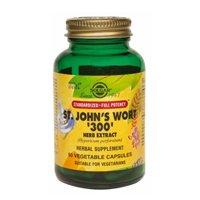 Solgar SFP St. John's Wort 300 Herb Extract Vegetable Capsules