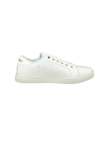 Weiss Textil 3501 Bianco Bianco La Snake L40 Lima Sneaker Pu Gear Djezz qwYYARXv
