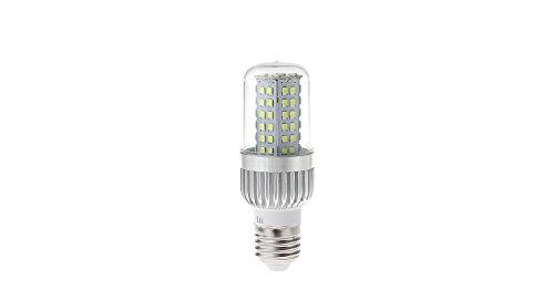 UAU-YM2080 E27 7W 80*2835 SMD 560LM 6000-6500K Pure White LED Corn Light Bulb - 7W, 80*2835, 560LM, 6000-6500K