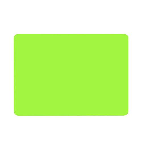 TONVER Topfuntersetzer aus Silikon, rutschfest, hitzebeständig, Untersetzer, Tisch-Platzdeckchen, Küchenutensilien, Orange, 40 x 30 cm, Silikon, grün, 40*30cm