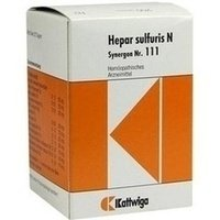 Preisvergleich Produktbild SYNERGON KOMPLEX 111 Hepar sulfuris N Tabletten 200 St
