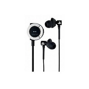 PSP In-Ear Headset with Remote Control
