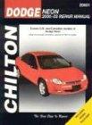 Dodge Neon, 2000-2003 (Chilton's Total Car Care Repair Manual) - Dodge 2002 Motor Neon