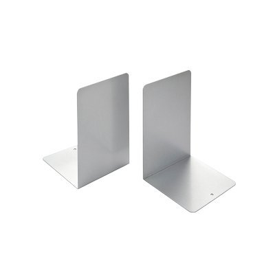 Tecnostyl AT9 Reggilibri Silver Metal