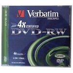 Verbatim DVD-RW 4x Speed 10er Pack Jewel Case Scratch Resistant Surface DVD-Rohlinge