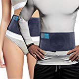 Cinturón para Hernia Umbilical - unisex - Faja para hernia abdominal, ayuda a aliviar el dolor. Banda elástica de sujeción para hernia inguinal, incisional, ventral, epigástrica, postoperatoria -L/XL
