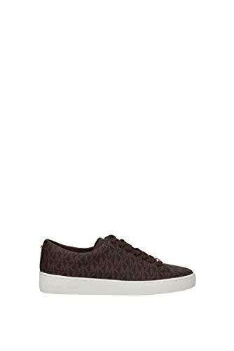 Sneakers Michael Kors Damen PVC Braun und Gold 43R5KTFP1BBROWN Braun 40EU
