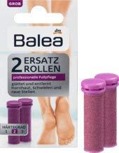 Balea Nachfüller Hornhautentferner Ersatzrollen grob, 1 x 2 St