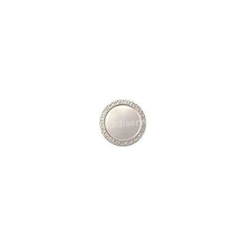 Adiserve sous-Assiette Ronde Blanc Nacré 30 cm par 4