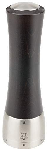 Peugeot 25236 Madras Salzmühle Holz, 6,5 x 6,5 x 21 cm, schokolade Damen-madras
