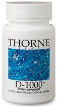 E Vitamin Thorne (Vitamin D-1000 14 g 60 Kps von Thorne Research)