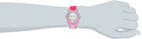 Alessi Kinder-Armbanduhr Analog Quarz Plastik rosa AL23003 - 2